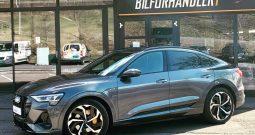 """Audi e-tron Sportback 55 S-Line Norsksolgt/LED-Matrix/B&O/Krok/21"""""""
